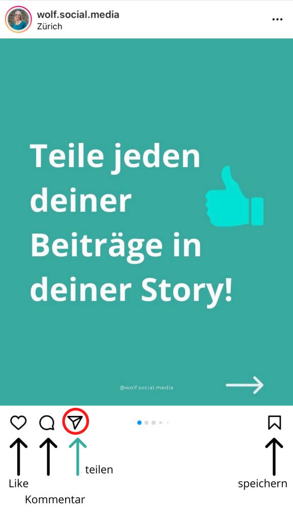 Story teilen 1